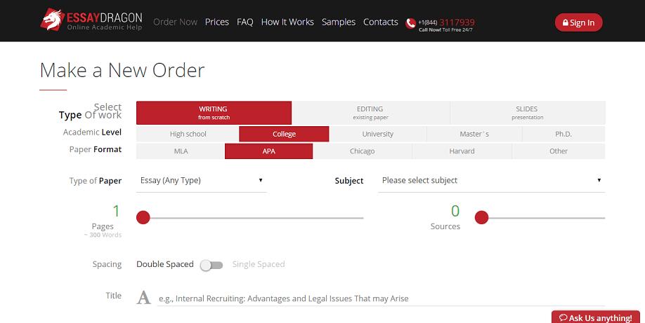essaydragon.com order
