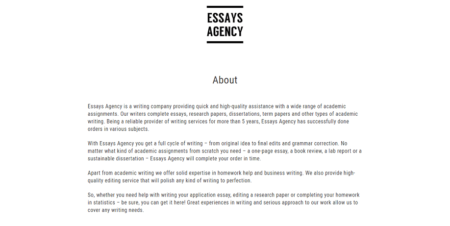 essaysagency review  mediocre  simple grad essaysagency about