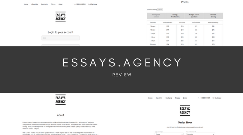 essays.agency review
