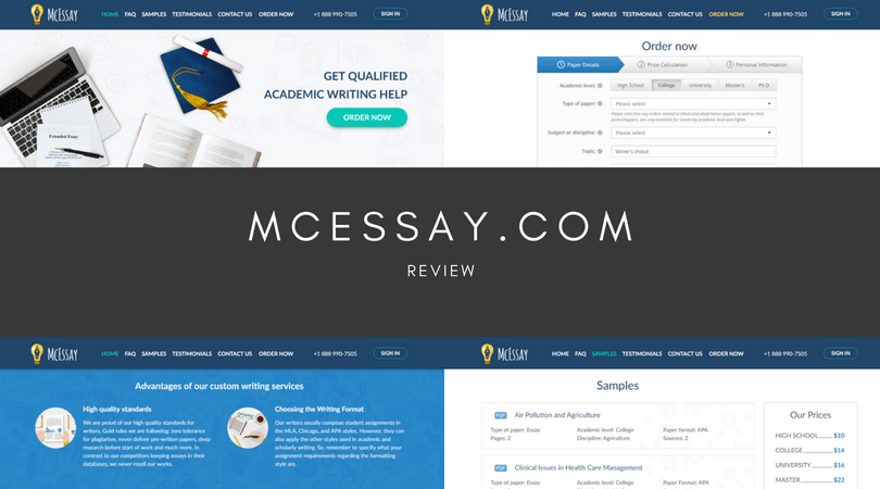 mcessay.com review