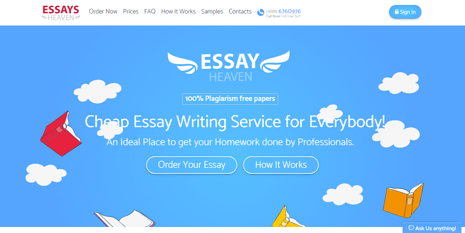 essays heaven review