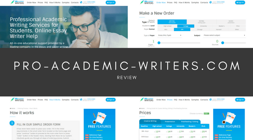 pro-academic-writers.com review