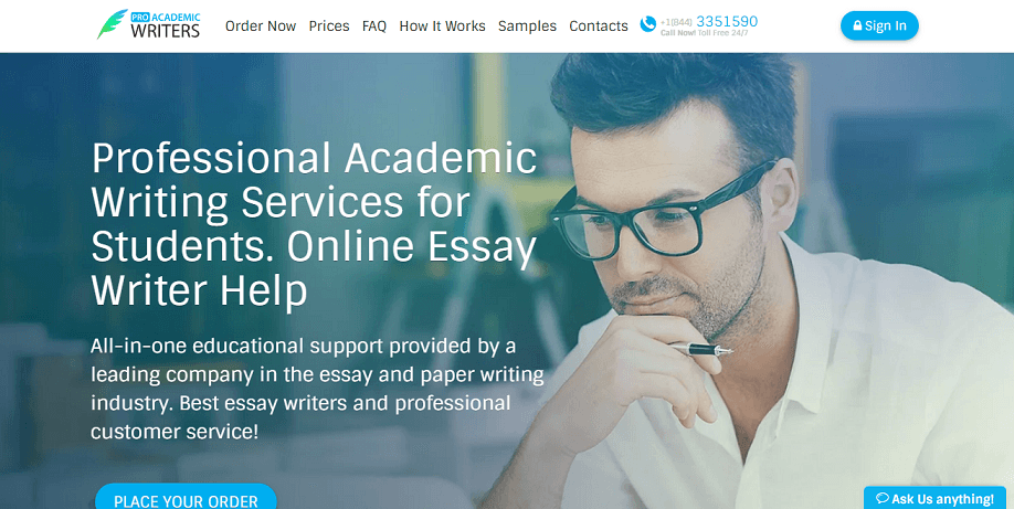 Proacademicwriterscom Review  Not Inspiring  Simple Grad Proacademicwriters Review