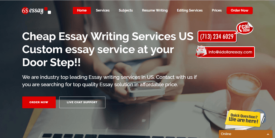 6 dollar essay review