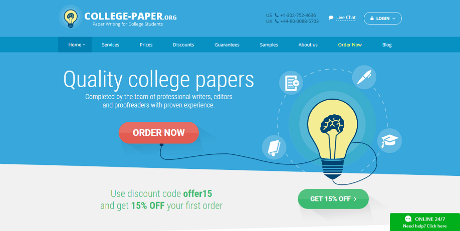 college-paper review