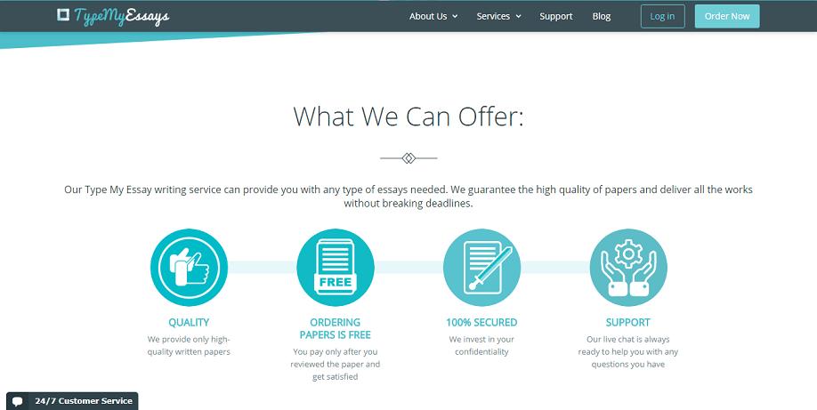 typemyessays.com offer