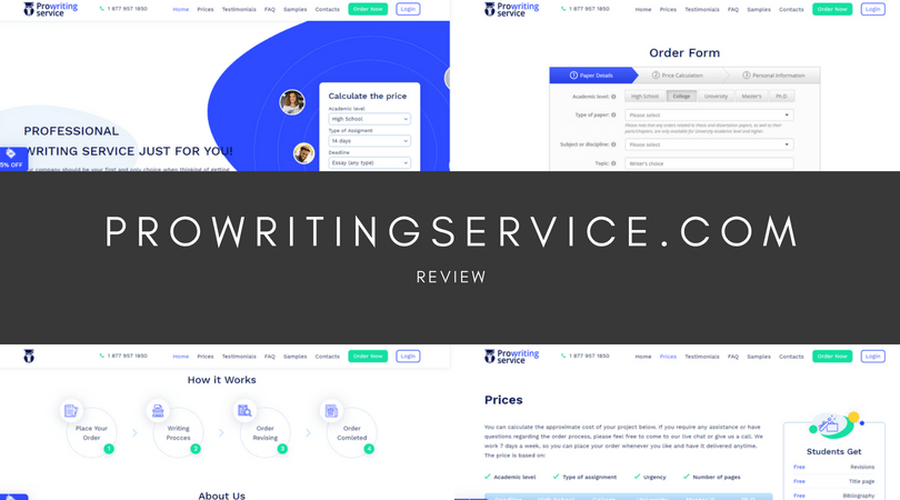 ProWritingService.com review