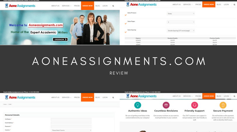 aoneassignments.com review