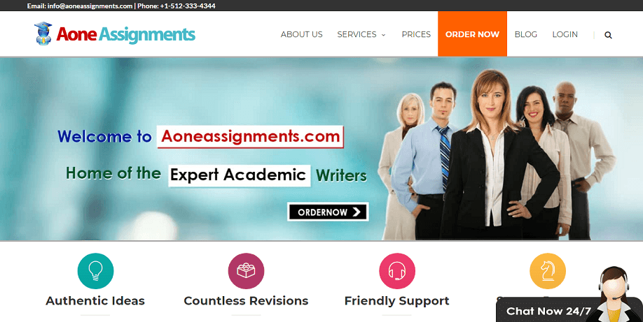 a one assignments review