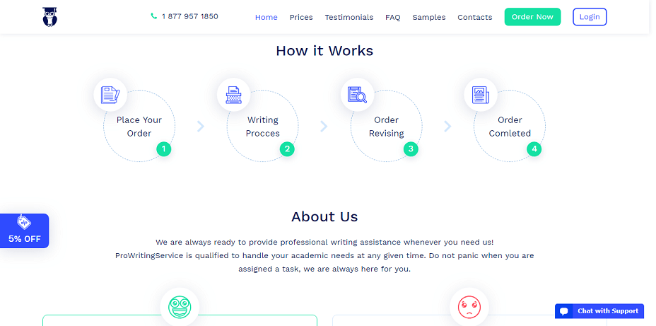 prowritingservice.com how it works