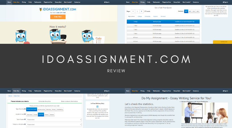 idoassignment.com review